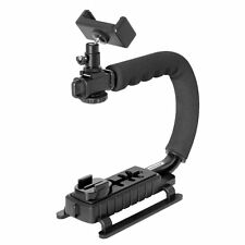 DSLR Camera Stabilizer C Shape Rig Low Position Shooting System for Nikon/Canon/
