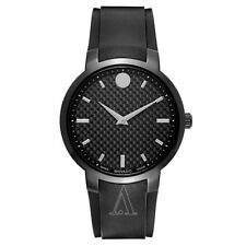 0606849 Movado Quartz Gravity Black Carbon Fiber Men's Watch