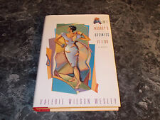 Ain't Nobody's Business If I Do by Valerie Wilson Wesley (1999, Hardcover)romanc