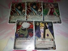 Naruto Holo Card Lot of 5 NM