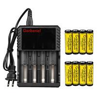 Lot Garberiel 3.7V Li-Ion 1200mAh Rechargeable 14500 Battery for Flashlight Lamp