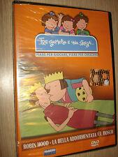 DVD TRE GEMELLE E UNA STREGA ROBIN HOOD - LA BELLA ADDORMENTATA NEL BOSCO