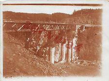 Pirk Vogtland / Pirkner - Brücke in Bau Orig. Foto vom 1931