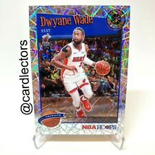 2019-20 NBA Hoops Premium Stock DWYANE WADE Tribute Laser PRIZM NM #287 MIA HEAT