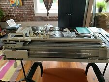 Silver Reed Sk840 Knitting Machine with Srp60N Ribber And Accessories.