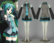 Vocaloid Hatsune Miku Cosplay Anime Costume Full Set