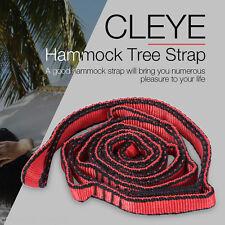 CLEYE Heavy-duty Hammock Tree Strap Hanging Rope Yoga Resistance Band
