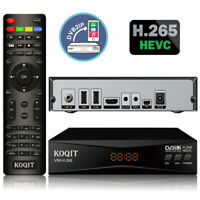 HEVC H265 DVB-S2 FTA Satellite Receiver finder Wifi Mirror Cast Youtube Tv box