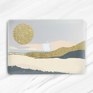Mountains Nature Sun Aesthetic Marble Hard Case For Macbook Air 13 Pro 16 13 15