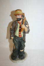 "Emmett Kelly Flambro Clown Figurine ""Hobo"" Exclusively From Flambro"