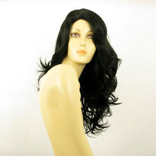 Perruque femme longue ondulée noir PRISCA1B