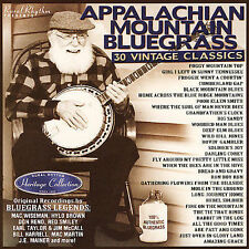 "APPALACHIAN MOUNTAIN BLUEGRASS, CD ""30 VINTAGE CLASSICS"" NEW SEALED"