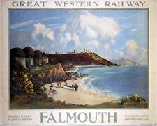 Falmouth (old GWR ad.) fridge magnet   (se)