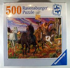 Ravensburger 500 Piece Puzzle   Horses In The Canyon   Sealed