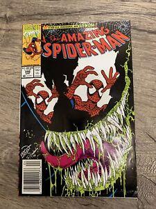 Amazing Spider-Man #346 Classic Venom Cover Newsstand High Grade Sharp!!!