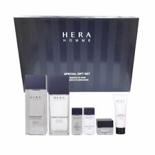 Hera Homme Special Set for Oily to Combination Skin(skin+lotion+samples)for Men