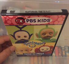 TELETUBBIES DVD TIME TO PLAY PBS KIDS MOVIE