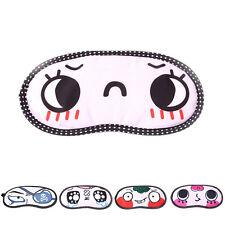 Antifaces para dormir Máscara de Ojos Eye Masks con Patrón Amable Viaje nuevo