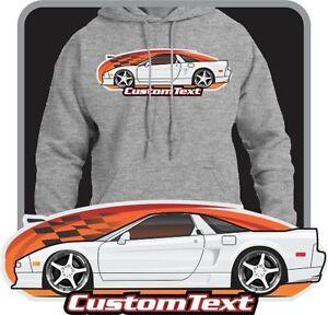 Custom Art Hoodie 1990-2005 NSX-T R not affiliated with HONDA ,  Acura