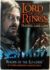 LOTR TCG ROTEL Realms of the Elf-Lords Boromir Starter Deck Box SEALED
