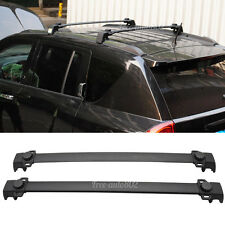 Fit For 11-15 Jeep Compass OE Style Black Roof Rack Cross Bar Aluminum