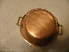 Vintage copper clad au gratin pan
