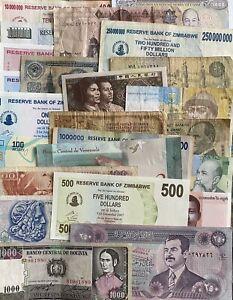 Bulk/lots Banknotes - 25 Pcs - Lot 16