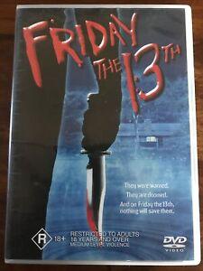 Friday The 13th (DVD Region 4) 1980