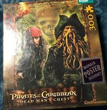 Pirates of the Caribbean Dead Man's Chest Jigsaw Puzzle 300pc Buffalo Games