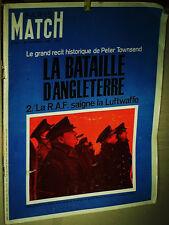 PARIS MATCH 24 07 1966 N°911 COMMEMORATIF BATAILLE D'ANGLETERRE 1940/44