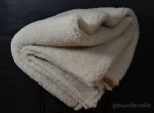 + Wolldecke aus Kamelwolle in Merino Wolle 140x200 , Kamelhaar , Schurwolle