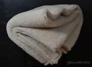 + Wolldecke aus Kamelwolle in Merino Wolle 155x200 , Kamelhaar , Schurwolle