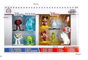10 Pack Disney - Pixar Nano Metalfigs Exclusive Collector's Set #130 - Unopened