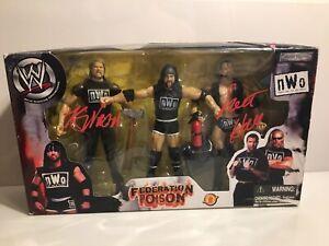 WWE Jakks NWO Federation Poison Scott Hall Kevin Nash Sixx XPac New in Box READ
