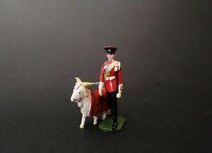 Ducal - Goat Mascot with Regimental Handler