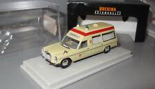 Brekina 13807 Mercedes Benz MB /8 Binz KTW _ Krankenwagen Malteser HD _ H3351
