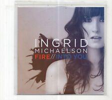 (JD158) Ingrid Michaelson, Fire - 2012 DJ CD