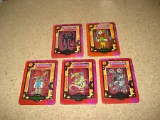 5 Digimon Taco Bell cards Machinedramon-Piedmon-Devimon-Metalseadramon-Puppetmon