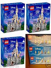LEGO 71040 ** LOT OF 3 ** Disney Castle Cinderellas Magic Kingdom  Fast Shipping