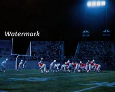 Rare CFL 1970's Montreal Alouettes vs Saskatchewan at Autostade  8 X 10 Photo