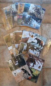 National Wildlife Federation 1987 first day issue group of 46 cards with stamps