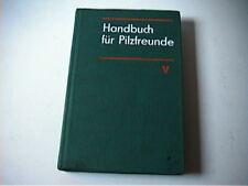 Handbuch für Pilzfreunde Band V 5 altes Pilzbuch Blätterpilze Täublinge Milchlin