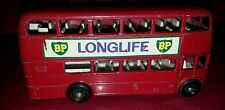 Vintage Matchbox Series No. 5 Routemaster Bus w/BP Longlife Decals