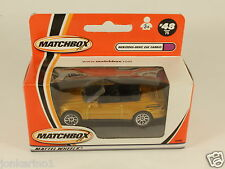[OF3-93] MATCHBOX #48 MERCEDES BENZ CLK CABRIO 92989 MATTEL WHEELS 2000 MIB
