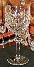 "Waterford Crystal POWERSCOURT Water Goblets Glasses 7 5/8"" 690/124"