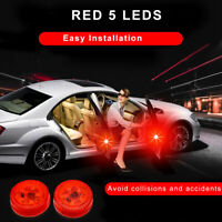 Safely Signal Flash Light  Wireless 2X  LED Red Universal Car Door Warning Light