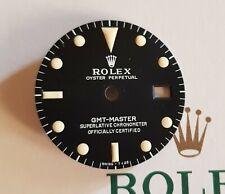 Rare Vintage Rolex matt Dial Gmt Master 1675 Singer Refinished 27,3 mm top
