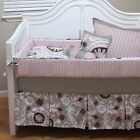 BABY CRIB BEDDING Baby Girl Bedding, bumper cover, quilt cover, pillow and sheet