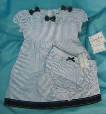 Hartstrings 2 Pc Dress w/ Panty Girls Size 12 Month - New w/ Tags
