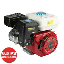 Benzinmotor 4,8kW 6,5 PS Standmotor Go-Kart Motor 4-Takt 1 Zylinder 20 mm Welle